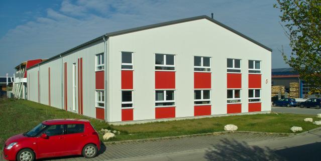 PPPlatten.de Gebäude in Markt Indersdorf bei München Polypropylenplatten