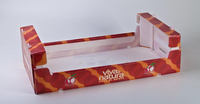 Box für Produkttransport aus PP Platten