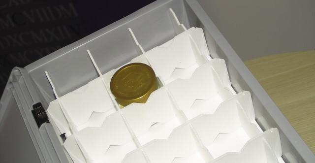 Individuell angefertigtes Gefache aus PP-Platten für Honiggläser Gläser Transport