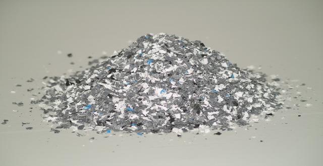 Mahlgut aus PP-Platten für recycling