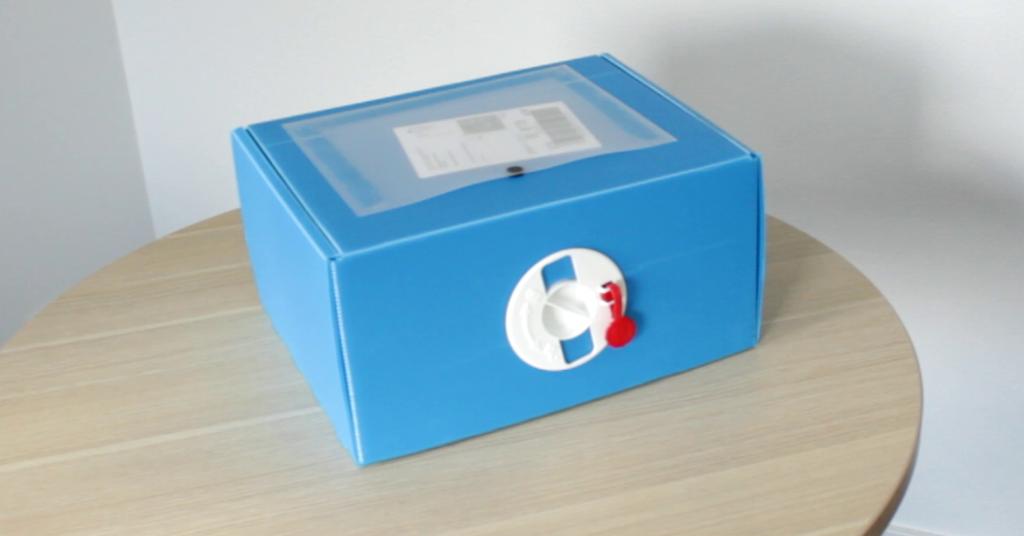 Mehrweg-Versandbox Multiversandbox aus Kunststoff PP-Platten